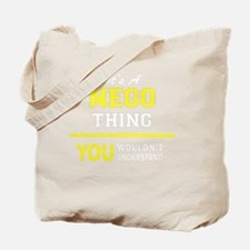 Cute Nego Tote Bag