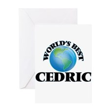 World's Best Cedric Greeting Cards