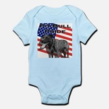 Pit Bull Pride Infant Creeper