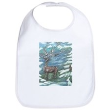 Reindeer & Friends Bib