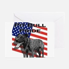 Pit Bull Pride Greeting Cards (6)