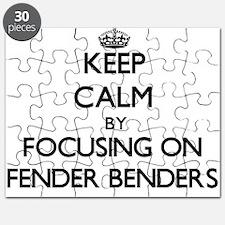 Keep Calm by focusing on Fender Benders Puzzle
