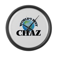 World's Best Chaz Large Wall Clock