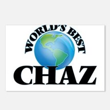 World's Best Chaz Postcards (Package of 8)