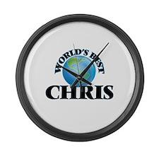 World's Best Chris Large Wall Clock