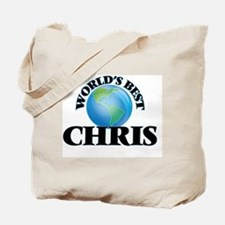 World's Best Chris Tote Bag