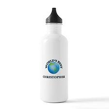 World's Best Christoph Water Bottle