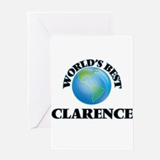 World's Best Clarence Greeting Cards