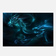blue dragon Postcards (Package of 8)