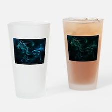 blue dragon Drinking Glass
