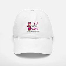 Combat Girl 2 Breast Cancer HotPink Baseball Baseball Cap