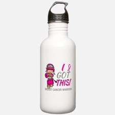 Combat Girl 2 Breast C Water Bottle
