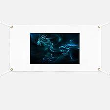 blue dragon Banner