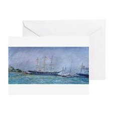 Ships Greeting Cards (Pk of 10)