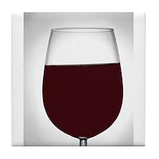 red wine Tile Coaster