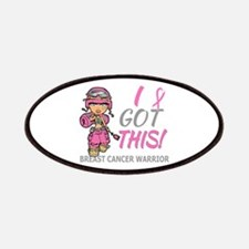 Combat Girl 2 Breast Cancer Pink Patches