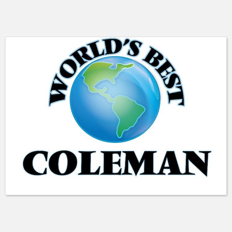 World's Best Coleman Invitations