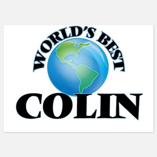 World's Best Colin Invitations