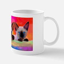 Siamese kittens 11 oz Mug