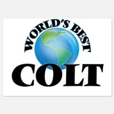 World's Best Colt Invitations