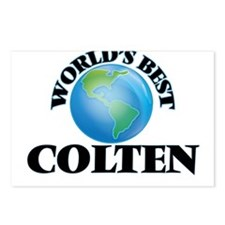 World's Best Colten Postcards (Package of 8)