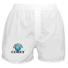 World's Best Corey Boxer Shorts