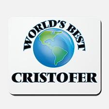 World's Best Cristofer Mousepad