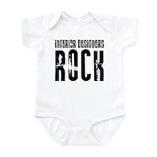 Interior Designers Rock Infant Bodysuit