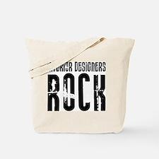 Interior Designers Rock Tote Bag