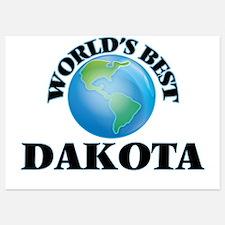 World's Best Dakota Invitations