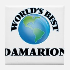 World's Best Damarion Tile Coaster