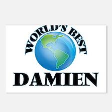World's Best Damien Postcards (Package of 8)
