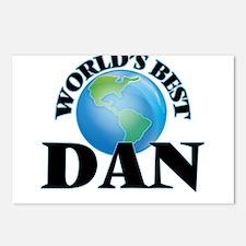 World's Best Dan Postcards (Package of 8)