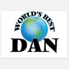 World's Best Dan Invitations