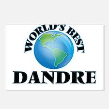 World's Best Dandre Postcards (Package of 8)