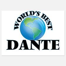 World's Best Dante Invitations