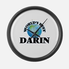 World's Best Darin Large Wall Clock