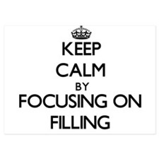 Keep Calm by focusing on Filling Invitations