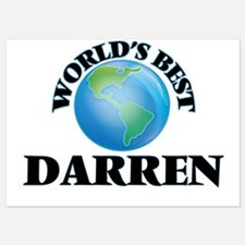 World's Best Darren Invitations