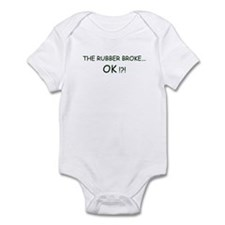 Rubber Broke Infant Bodysuit