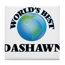 World's Best Dashawn Tile Coaster