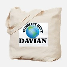 World's Best Davian Tote Bag