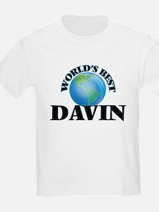 World's Best Davin T-Shirt