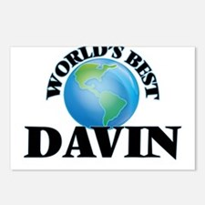 World's Best Davin Postcards (Package of 8)