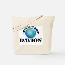 World's Best Davion Tote Bag
