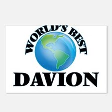 World's Best Davion Postcards (Package of 8)