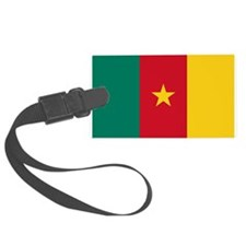 Cameroon Flag Luggage Tag