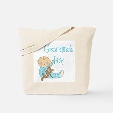 Grandma's Boy Tote Bag