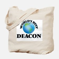 World's Best Deacon Tote Bag