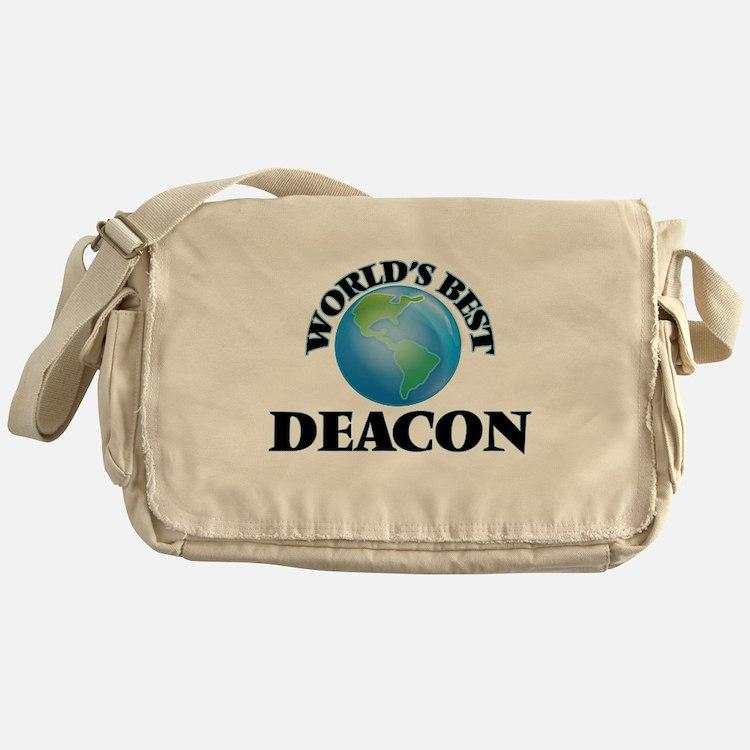 World's Best Deacon Messenger Bag